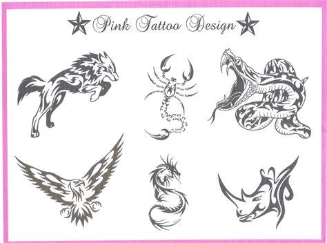 Tatouage Tribal Animaux  Modèles Et Exemples