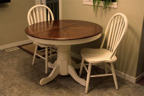 feathering  nest refinished table  chairs