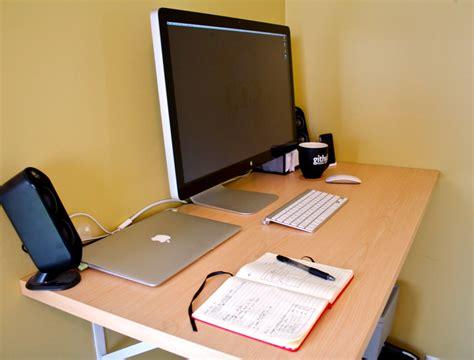 inexpensive diy standing desks