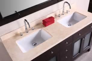 Small Square Undermount Bathroom Sink by 48 Inch Double Sink Bathroom Vanity Homesfeed