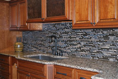 vinyl flooring used as backsplash an easy backsplash made with vinyl tile hgtv with regard to kitchen backsplash using vinyl