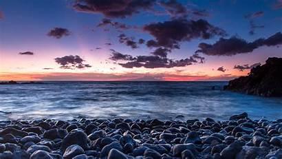 Sunrise Hawaii Beach Sea Desktop Relax Hi
