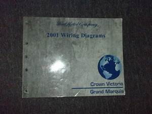 2001 Ford Crown Victoria Mercury Grand Marquis Electrical Wiring Diagram Manual