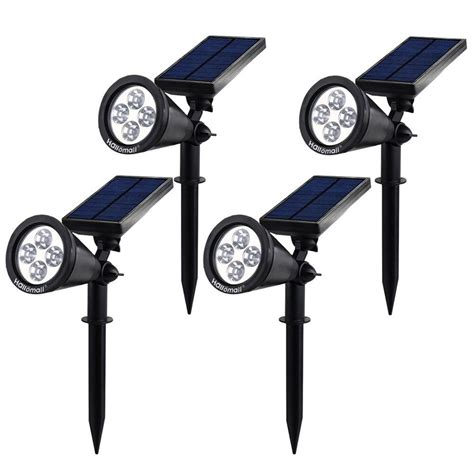 solar yard lights best solar outdoor lights ledwatcher