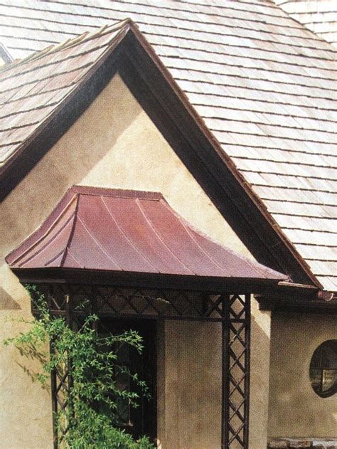 images  swoop roof entry  pinterest copper patio  front doors