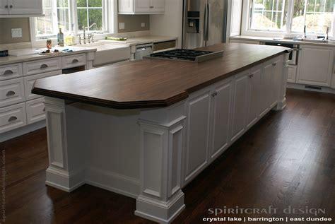 kitchen island tops custom walnut slab kitchen island top by spiritcraft design furniture