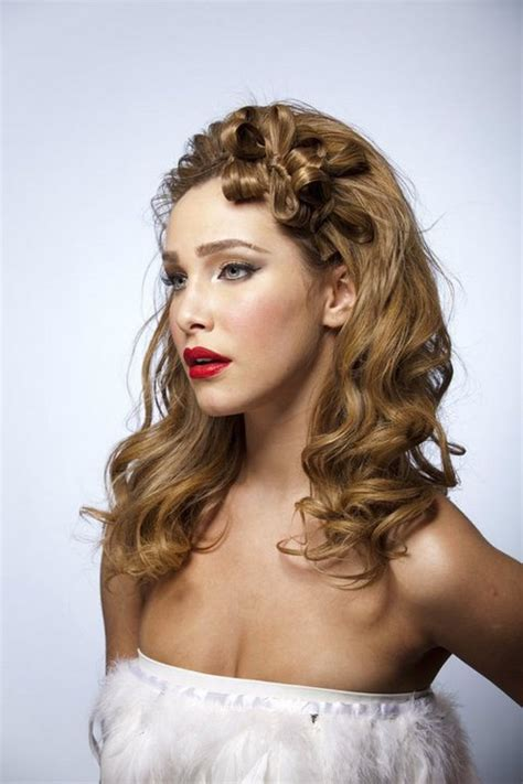 pictures 8 wedding hairstyles for long hair curly