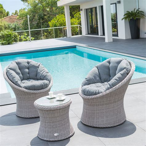 Salon De Jardin Aluminium Blanc | Schiebegardinen Ideen