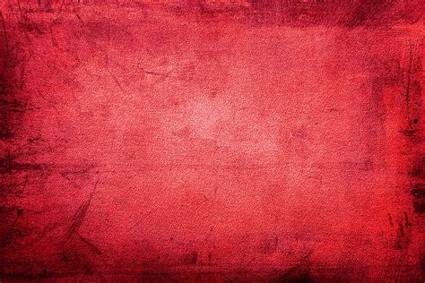 Red Grunge Fabric Texture Background PhotoHDX