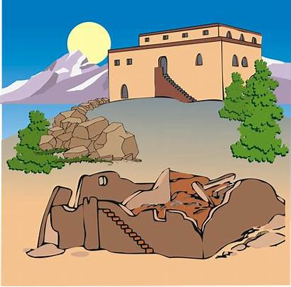 Rock Built Upon Clipart Parable Jesus Foundation