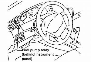 Fuel Pump Relay Location  Four Cylinder Front Wheel Drive