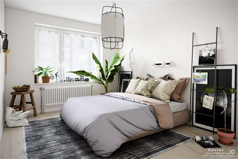 Bedroom Ideas Images by A Scandinavian Style Bedroom Gallery Area By Autodesk