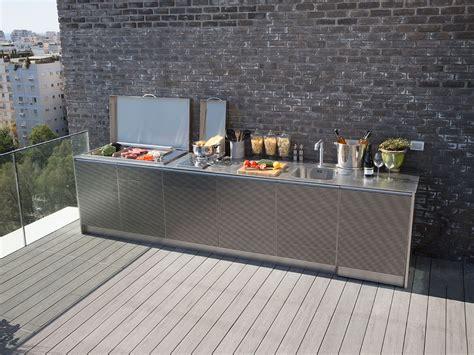 cucine da terrazzo barbecue da giardino la collezione completa pla net