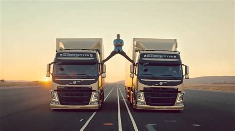 the volvo commercial jean claude van damme epic volvo trucks commercial youtube