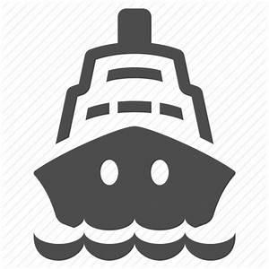 Cruise, ocean, sailing, sea, ship, travel, waves icon ...