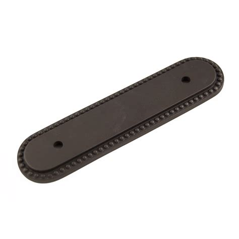 cabinet hardware backplates bronze shop rk international bronze cabinet backplate at lowes