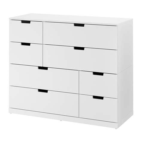 Ikea Commode 8 Tiroirs by Nordli Commode 8 Tiroirs Blanc Ikea