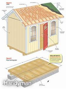 How to Build a Shed on the Cheap — The Family Handyman