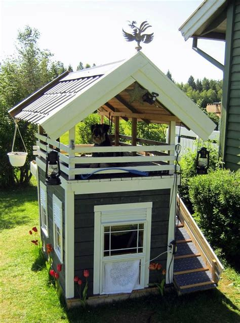 story dog house lucky dog creative ideas pinterest roof house search