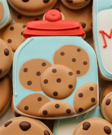 decorated cookies ideas  pinterest decorated