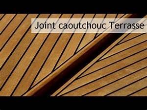 joint caoutchouc pour terrasse bois youtube With toile de bateau pour terrasse