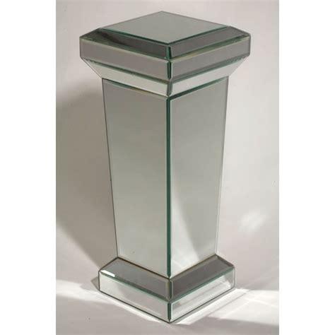 mirror pedestal stand mirrored column pedestal catering equipment hire