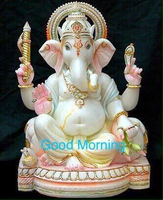 Good Morning Wish with Hindu God