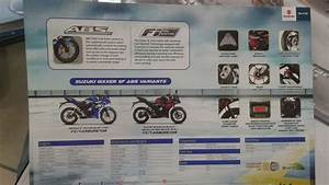 Suzuki Gixxer Sf Abs Spotted At A Dealership  Brochure Leaked