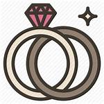 Ring Icon Icons Engagement Pair Rings Svg