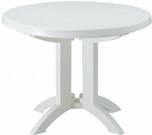 Table De Jardin Blanche : table de jardin personnalis e avec logo grossiste objets publicitaires ~ Teatrodelosmanantiales.com Idées de Décoration
