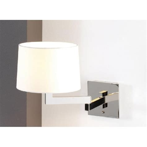 swing arm adjustable wall lights for lighting over beds