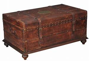 What is the best trunk table for Wood trunk coffee table