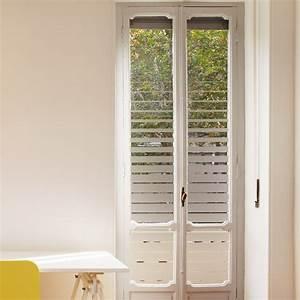 Stickers Pour Vitre : sticker occultant pour vitre et fen tre effet store ~ Melissatoandfro.com Idées de Décoration