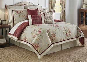 Waverly, Fresco, Flourish, Reversible, Comforter, Set, King