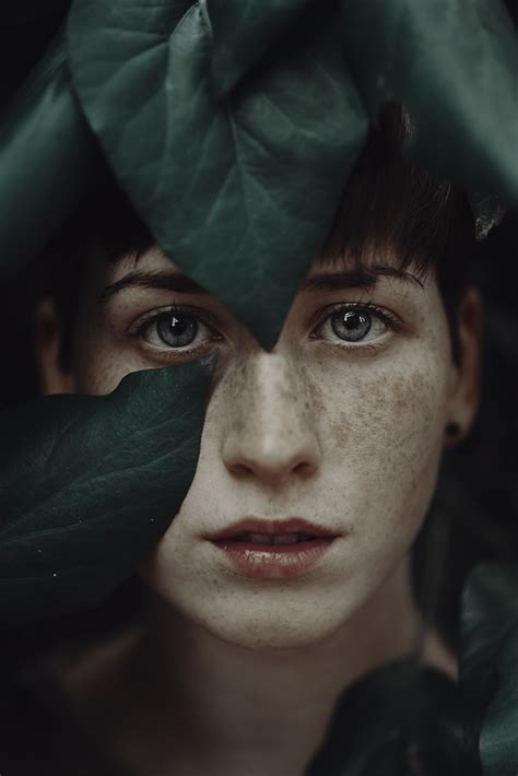 Dramatic Portraits Of Ethereal Women Captured With Natural