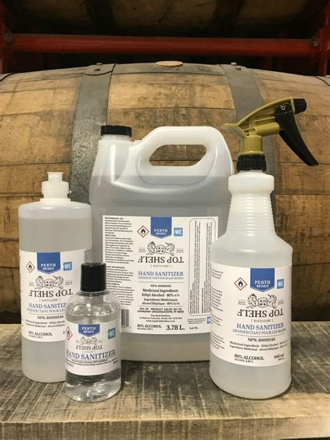 Top Shelf Distillers now producing hand sanitizer