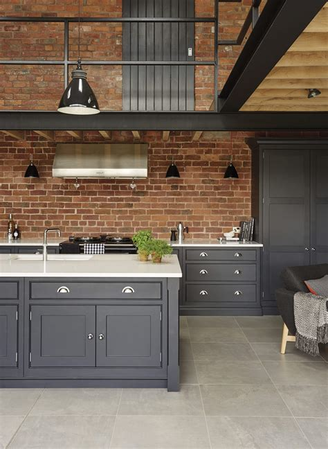 Kitchen Cabinets Paint Ideas - industrial style kitchen tom howley