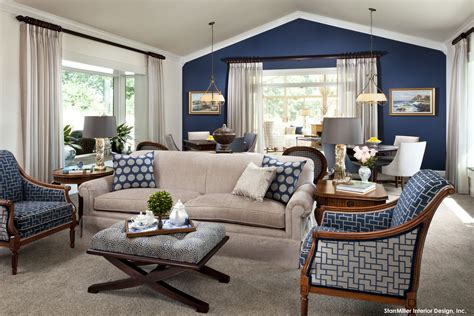 Living Room With Blue Decor by 15 Lovely Living Room Designs With Blue Accents Home