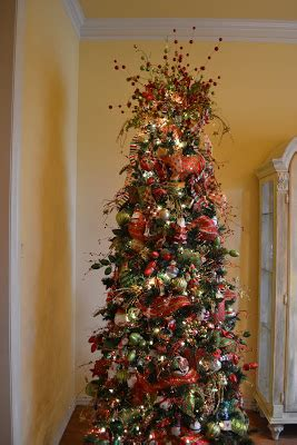 decorating the christmas tree with mesh kristen s creations decorating a tree with mesh ribbon tutorial