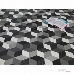 Pvc Boden Schwarz : details zu pvc cv vinyl bodenbelag cube 3d w rfel schwarz wei grau breite 2 meter boden ~ Frokenaadalensverden.com Haus und Dekorationen