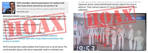 MYTH BUSTED: Coronavirus is not airborne