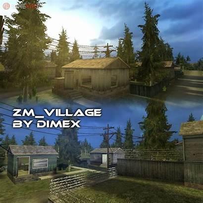 Village Zm Cs Map Maps Gamebanana Gamemodd