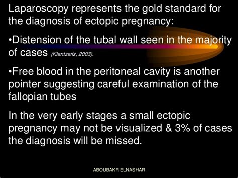Laparoscopic Management Of Tubal Pregnancy
