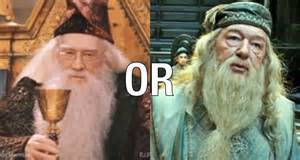 Which Dumbledore do you prefer ? Richard Harris or Michael ...