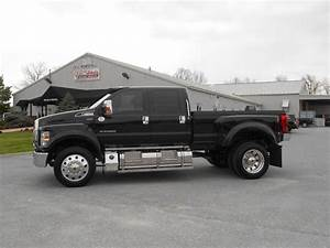 Loaded     2019 Ford F650 Crew Cab Pickup Truck    Leather