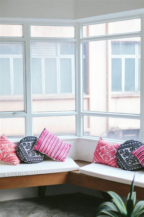 diy  sew bench seat cushions  pair  spare
