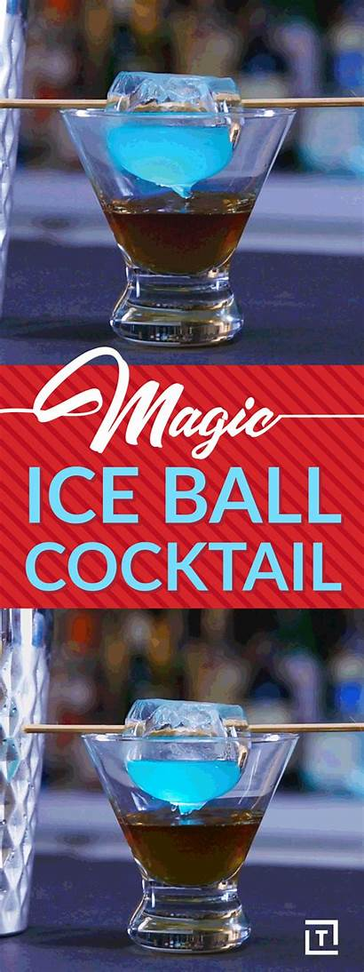 Ice Ball Cocktails Cocktail Magic Recipe Sphere