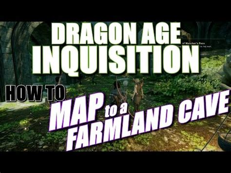 full  map   farmland cave location dragon age