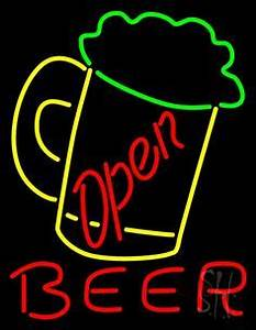 1000 images about Beer Open Neon Signs on Pinterest