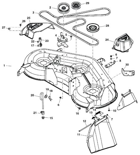 John Deere Garden Tractor Parts Diagram Automotive